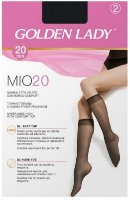 Гольфы GOLDEN LADY MIO 20 gambaletto, 2 paia