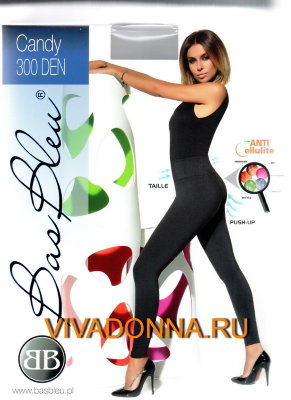 Леггинсы Bas Bleu Candy 300 leggings push-up
