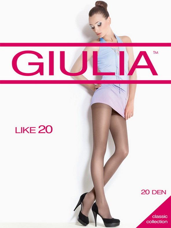 Колготки Giulia Like размер 5 плотность 40 Den Nero