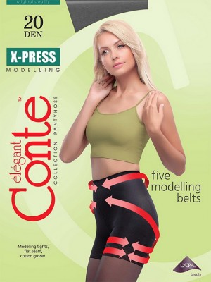 Колготки Conte elegant X-Press 20 XL