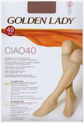 Гольфы Golden Lady Ciao 40 gambaletto, 2 paia
