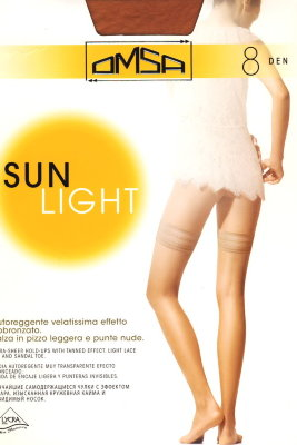 Чулки Omsa Sun Light 8 autoreggente