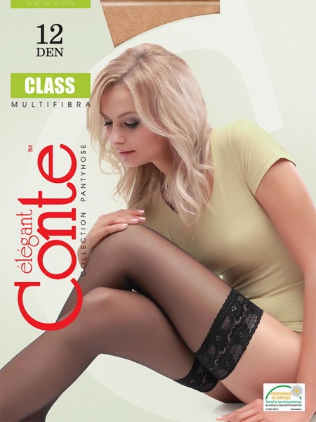 Чулки Conte elegant Class 12 stay-up