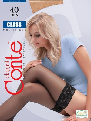 Чулки Conte elegant Class 40 stay-up