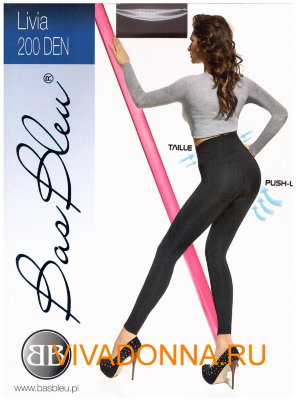 Леггинсы Bas Bleu Livia 200 leggings push-up