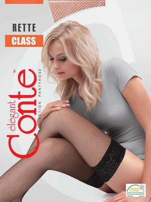 Чулки Conte elegant Class Rette Micro stay-up