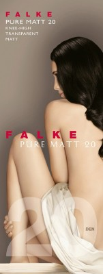 Гольфы Falke Pure Matt 20 knee-high art. 41712