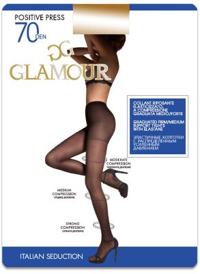 Колготки Glamour Positive Press 70