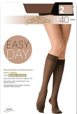 Гольфы OMSA EASY DAY 40 gambaletto 2 paia