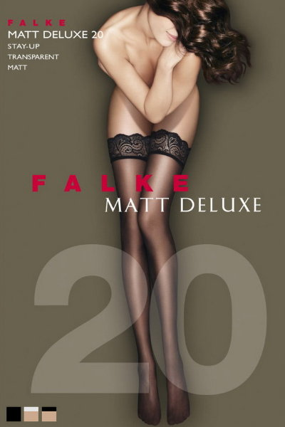 Чулки Falke Matt Deluxe 20 stay-up art. 41520