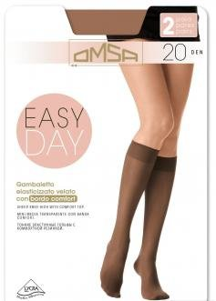 Гольфы Omsa Easy Day 20 gambaletto 2 paia