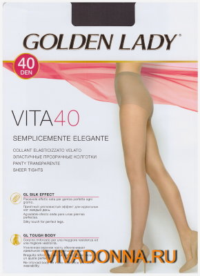 Колготки Golden Lady Vita 40