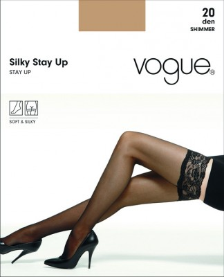 Чулки Vogue Silky Stay Up 20