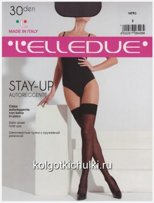 Чулки Elledue STAY-UP 30 autoreggente