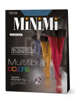 Колготки MINIMI MULTIFIBRA COLORS 70
