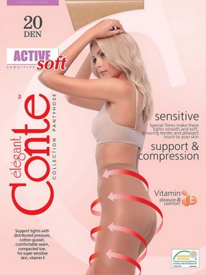 Колготки Conte elegant Active Soft 20