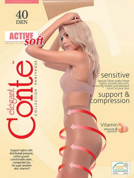Колготки Conte elegant Active Soft 40