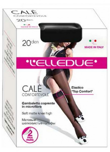 Гольфы ELLEDUE CALE 20 gambaletto, 2 paia