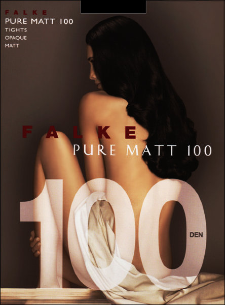 Колготки Falke Pure Matt 100 art. 40110