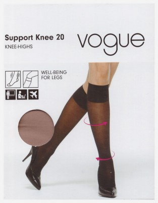 Гольфы Vogue  Support 20 knee-highs