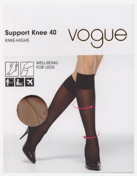 Гольфы Vogue  Support 40 knee-highs