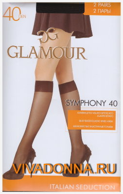 Гольфы Glamour Symphony 40 gambaletto, 2 paia