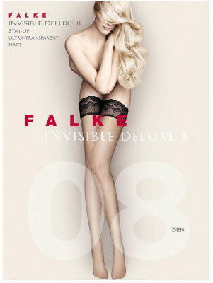 Чулки Falke Invisible Deluxe 8 stay-up art. 41560