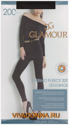 Леггинсы Glamour Thermo Fleece 200 leggins
